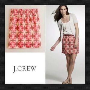 👜 J. CREW Wednesday Tie Dye Mini Skirt Pink